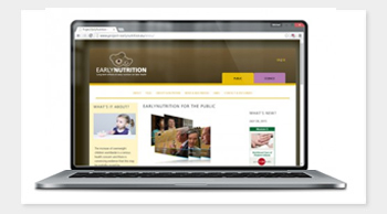 EarlyNutrition // Website