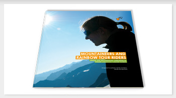 Direct // Book: Mountaineers and rainbow tour riders